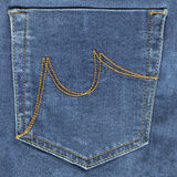 Zak jeans Royalty-vrije Stock Afbeeldingen