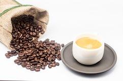 Zak koffie 2 Royalty-vrije Stock Fotografie