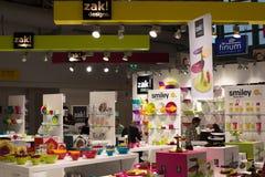 ZAK! Ontwerpen bij Tentoonstelling Ambiente in Franfkurt Stock Fotografie