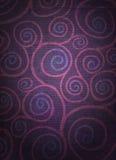 zakłopotane kwieciste spirale Zdjęcia Royalty Free