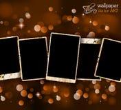 Zakłopotani antyków photoframes Obraz Royalty Free