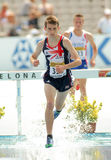 Zak Seddon of Great Britain. During 3000m steeplechase event the 20th World Junior Athletics Championships at the Olympic Stadium on July 13, 2012 in Barcelona Stock Photos