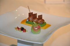 Zakąska - odgórny gastronomy Obraz Royalty Free