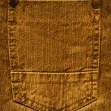 Zak van bruine jeans Royalty-vrije Stock Afbeeldingen