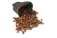 Zak van de Bonen van de Koffie stock foto