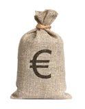 Zak van Euro. Royalty-vrije Stock Afbeeldingen