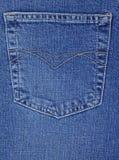 Zak van jeans Royalty-vrije Stock Foto