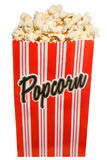 Zak verse geknalde popcorn Stock Fotografie