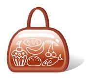 Zak voedsel Royalty-vrije Stock Afbeelding