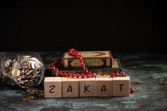 Zakat conceptual shot