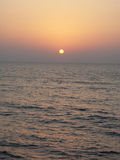 Zakat_001. Sunset on the Red sea Stock Images