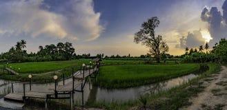 Zakaz Nong Khlong Przyciągania w Singburi Tajlandia zdjęcie stock