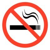 zakaz palenia Zdjęcie Royalty Free