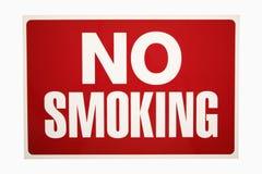 zakaz palenia Obrazy Royalty Free