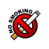 zakaz palenia Zdjęcia Stock