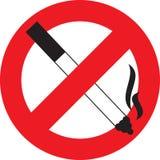 zakaz palenia ilustracja wektor