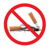 zakaz palenia Fotografia Stock