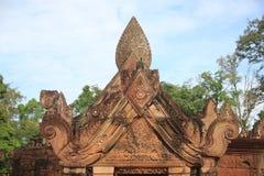 Zakaz Teay Świątynny Siem Przeprowadza żniwa Kambodża Zdjęcia Royalty Free