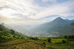 Zakaz wioska Ho, Sapa okręg, Lao Cai prowincja, północny zachód Wietnam Zdjęcia Stock