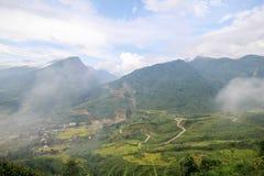 Zakaz wioska Ho, Sapa okręg, Lao Cai prowincja, północny zachód Wietnam Zdjęcie Royalty Free