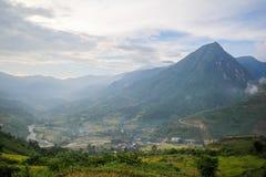 Zakaz wioska Ho, Sapa okręg, Lao Cai prowincja, północny zachód Wietnam Obraz Royalty Free