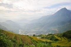 Zakaz wioska Ho, Sapa okręg, Lao Cai prowincja, północny zachód Wietnam Zdjęcia Royalty Free