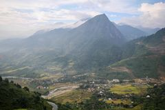 Zakaz wioska Ho, Sapa okręg, Lao Cai prowincja, północny zachód Wietnam Obraz Stock