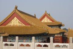 zakazane miasto dachy Obrazy Royalty Free
