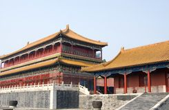 zakazane miasto w chinach Obraz Royalty Free