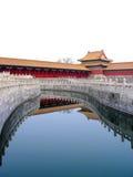 zakazane miasto w chinach Zdjęcia Royalty Free