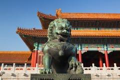 zakazujący Beijing miasto Obrazy Stock