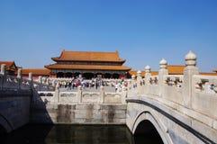 zakazujący Beijing miasto Obraz Royalty Free