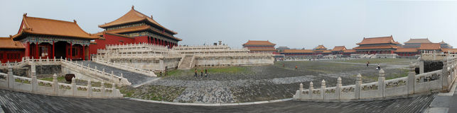 zakazujący Beijing miasto obrazy royalty free
