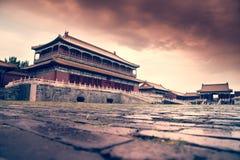 zakazujący porcelanowy Beijing miasto Obrazy Royalty Free