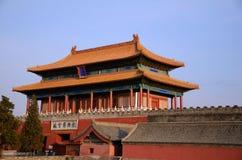 zakazujący porcelanowy Beijing miasto Zdjęcia Stock
