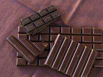 zakazuje czekoladę zdjęcie stock