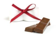 zakazuje czekoladę Zdjęcia Royalty Free