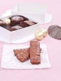 zakazuje czekoladowego toffee fotografia royalty free