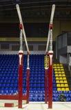 zakazuje gimnastyczną paralelę obraz stock