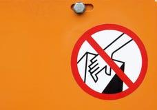 zakazuje handel obraz royalty free