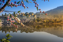 Zakazuje Rak Tajlandzką wioskę, Chińska ugoda Obrazy Royalty Free