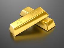 zakazuje się złoto Obrazy Stock