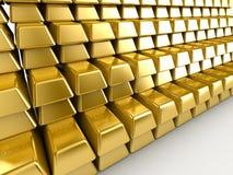 zakazuje się złoto Zdjęcia Royalty Free