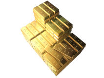 zakazuje się złoto Fotografia Stock