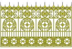 zakazuje złotego Obraz Royalty Free