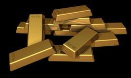 zakazuje złoto Fotografia Stock