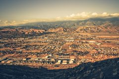Zakazywać Kalifornia panoramę Obraz Royalty Free