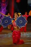 Zakdoek dans-2007 Jiangxi-het Feest van het de Lentefestival Stock Fotografie