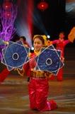 Zakdoek dans-2007 Jiangxi-het Feest van het de Lentefestival Royalty-vrije Stock Afbeelding