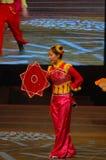 Zakdoek dans-2007 Jiangxi-het Feest van het de Lentefestival Stock Foto